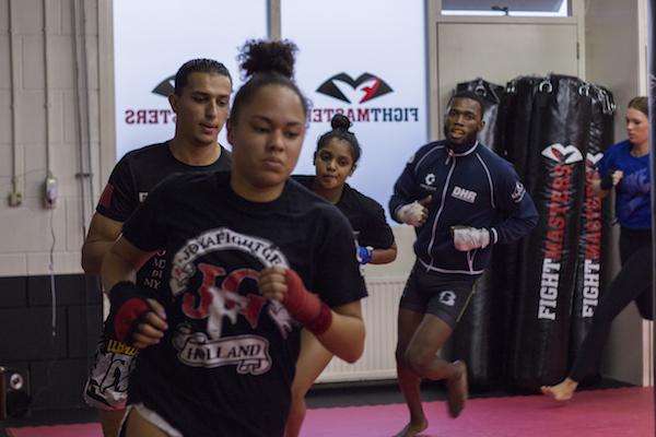 wedstrijdgroep fightmasters